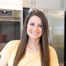 Erin Kenney Nature Remedies consultant in the kitchen