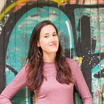 Sara Sumic Nature Remedies consultant on graffiti background